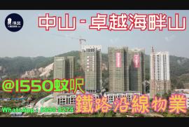 卓越海畔山_中山 深中大橋出入口與香港深圳一橋之隔 香港銀行按揭 (實景航拍)