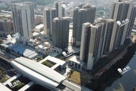 南沙水戀|香港高鐵1小時直達|市區鐵路上蓋